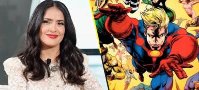 "HOY / Salma Hayek negocia incorporarse a la cinta ""The Eternals"" de Marvel Studios"