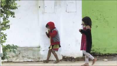 Tierra de nadie: Niños indígenas se drogan ante la vista de todos