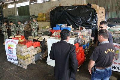 Cae camión con casi 6 mil kilos de droga que iba a Brasil