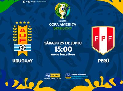 Se completan los cuartos con Uruguay y Perú