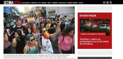 """Periodistas de Última Hora rechazan decisión editorial de eliminar noticia sobre """"orgullo gay"""""""