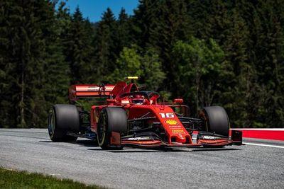 Leclerc por delante de Bottas