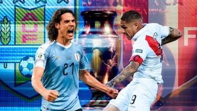 Uruguay y Perú buscan su pase a semifinal de la Copa América