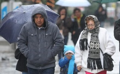 Anuncian ingreso de frente frío para este domingo