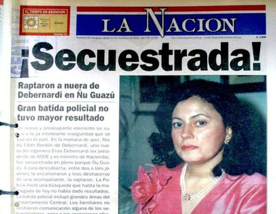 María Edith, optimista por inminente extradición de sus secuestradores