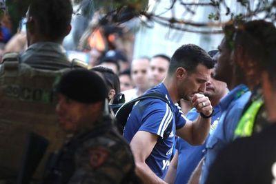 Argentina llega a Belo Horizonte