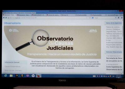 Presentaron plataforma digital de casos emblemáticos