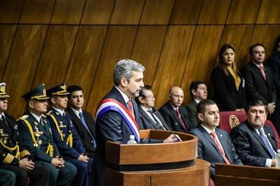 Presidente destaca formalización económica, inversión en salud e infraestructura, combate al crimen organizado y transparencia