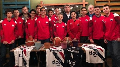 Paraguay viaja al Sudamericano Sub 14 de basquet