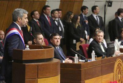 Presidente de la República presentó informe de gestión