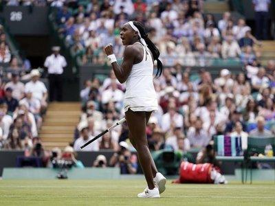 Con apenas 15 años hace historia en Wimbledon