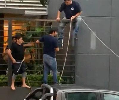 """Declaran """"Hijos Dilectos de Asunción"""" a personal de Telefuturo"""