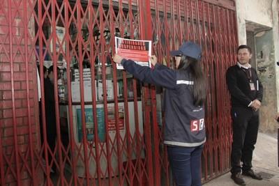 SET suspende actividades de comercios en San Lorenzo y Asunción