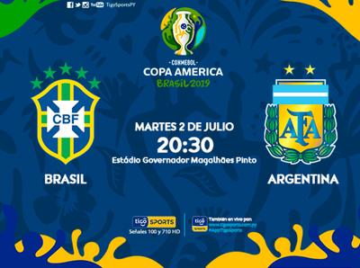 Brasil y Argentina paralizan el mundo del fútbol