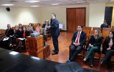Magistrados participan en la realización de presupuesto 2020