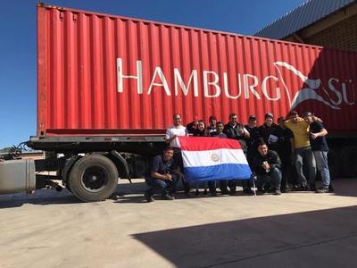 Ya está en EE.UU. el primer envío de colchones made in Paraguay