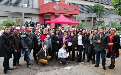 Más de 60 abogados del Este van a Asunción y exigen justicia para Ulises Quintana