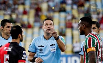 HOY / Juez de APF en la reanudación de la Sudamericana