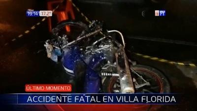 Joven de 19 años fallece tras accidente de tránsito