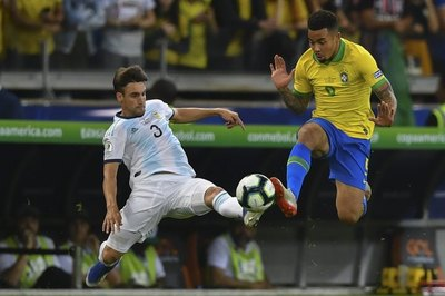 Seguí el minuto a minuto de Brasil Vs. Argentina