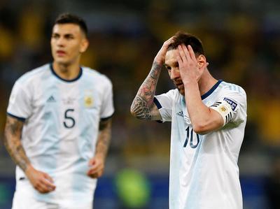 Messi dispara contra el arbitraje y el uso del VAR