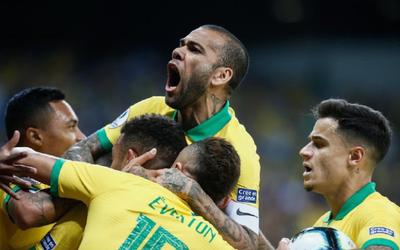 Brasil es finalista de la Copa América
