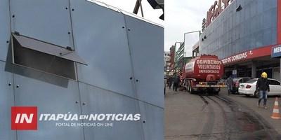 SIRVIÓ LA CAPACITACIÓN PREVENTIVA EN INCENDIO EN EL CIRCUITO COMERCIAL..