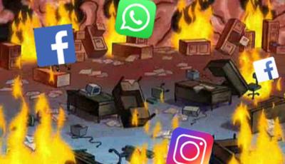 Facebook, WhatsApp e Instagram reportan fallos a nivel mundial