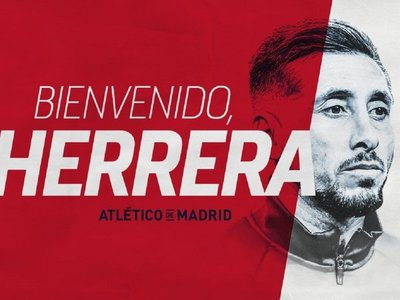El Atlético anuncia el fichaje de Héctor Herrera por tres temporadas