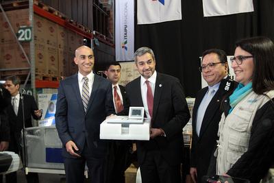 Itaipu entrega equipamientos para fortalecer las USF de Concepción y San Pedro