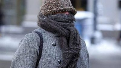 Frío polar se sentirá el fin de semana con mínimas de 0 °C