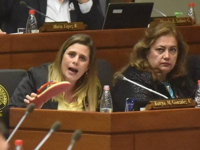 Diputados rechazaron tratar pérdida de investidura de Kattya González