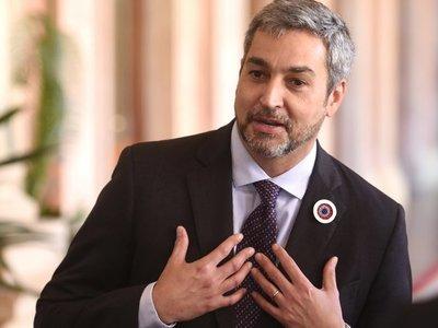Mario Abdo Benítez decidió veto total de ley de autoblindaje