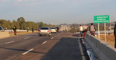 "Caminera no está a  favor de bicisenda  en zona ""autopista"""