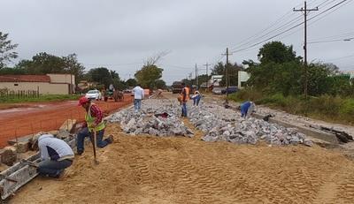 Avanzan las obras complementarias de Concepción-Vallemí