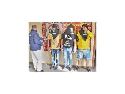 Detienen a sicario y a un personal de seguridad de Cucho