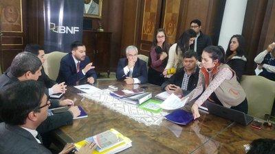 BNF recibió lista de campesinos que solicitan refinanciación de deudas
