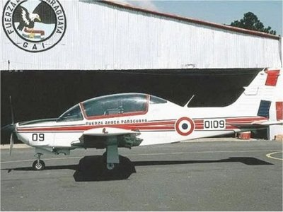 Aterrizaje de emergencia en Aeropuerto Militar de Concepción