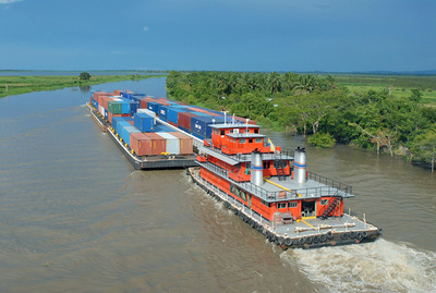 Paraguay y Argentina avanzan en su integración fluvial