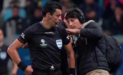 HOY / La final de la Copa América, en manos de árbitro trasandino