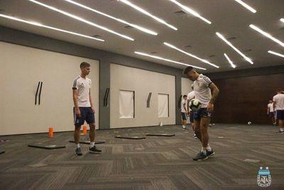 Suspenden el entrenamiento de Argentina