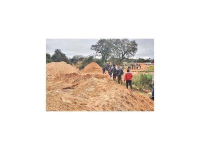 Disponen cese  de extracción de arena del río Curuguaty