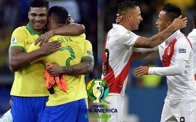 Las finales de Copa América de Brasil y Perú