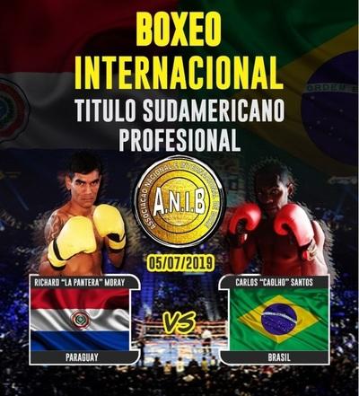 Paraguay TV transmite en exclusiva pelea de Pantera Moray ante Caolho Santos