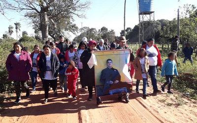 5 años del secuestro de Edelio: familiares marcharon y oraron por su retorno