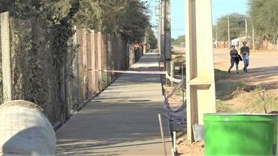 Municipalidad de Filadelfia construye nueva vereda en el Barrio Amistad