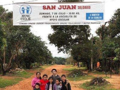 Realizan San Juan Solidario en Luque