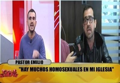 Carlos Gómez discutió a los gritos con pastor religioso