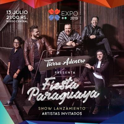 Lanzamiento del nuevo disco de Tierra Adentro será en el Ruedo Central de la Expo