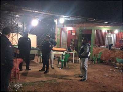 Hieren a tres hombres en un atentado en Presidente Franco